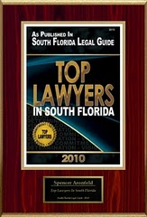 Cited as 2010 Top Lawyers in South Florida, South Florida Legal Guide